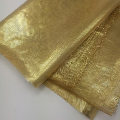 Metallic Gold Shinny Soft Fabric 54""